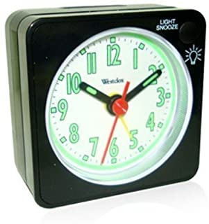 Westclox 47370 Quartz Analog Clock Black