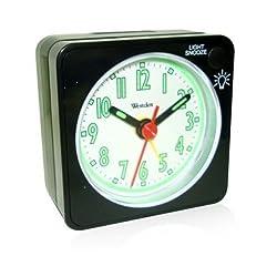 Westclox O158642 47370 Quartz Analog Clock Black
