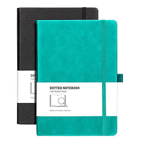 RETTACY Dotted Bullet Grid Journal 2 Pack