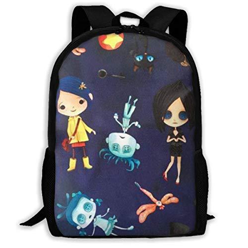 Lawenp Coraline 's Sport Style Adulte Unisexe épaule Sac d'épaules pour l'école, Voyage, Plein air,