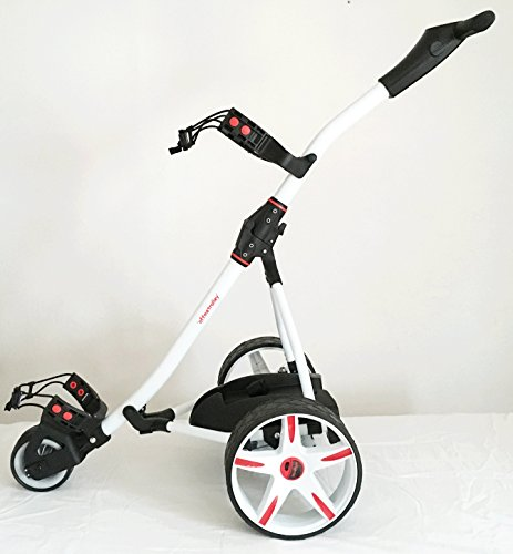Offmetrolley Z1 36 hole Electric Golf Trolley - White