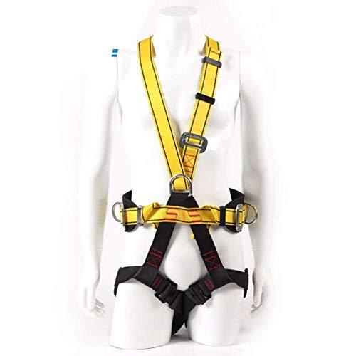 MUTANG Fünf-Punkt-Aerial Work Harness-Ganzkörper-Elektriker-Bergbau-Doppelrücksitzgurt im Freienkörper, der Sicherheitsgurt klettert