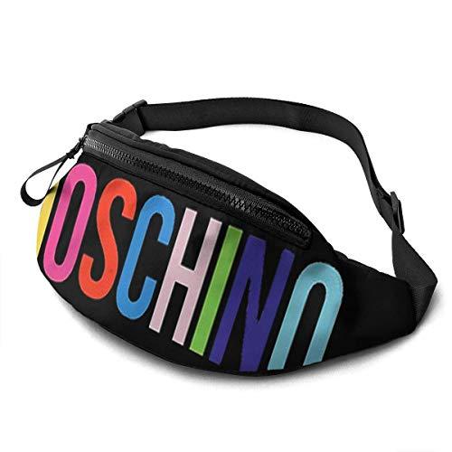 NHCY Moschino inspirierte Gürteltasche mit verstellbarem Gürtel