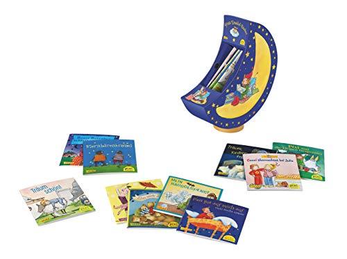 Pixis Einschlaf-Bücher: Monddose mit Spieluhr