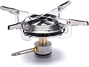 Hyuga Neji Outdoor Mini Camping Gas Stoves Ultralight Portable Hiking Backpacking, Camping Equipment Stove - Survival Stove, Camping Stove, Portable Camping Wood Stove, Camping Stoves
