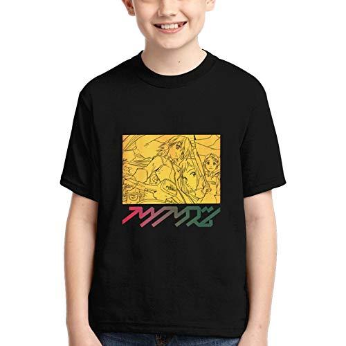 KFEOFILKDFAS Camiseta de manga corta para niñas con cuello redondo y cuello redondo