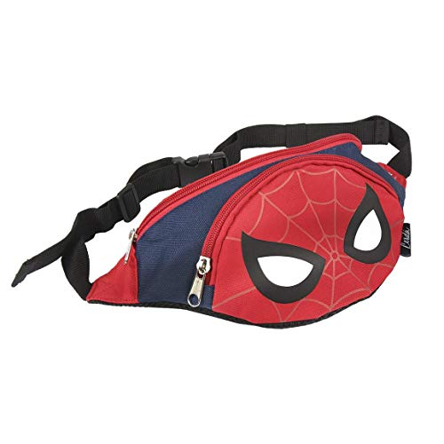 ARTESANIA CERDA Bolso Riñonera Spiderman Riñonera de Marcha, 33 cm
