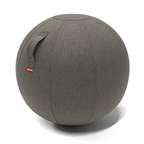 Worktrainer Sitzball - Office Ball 70-75cm (Iron) geeignet für Körpergröße 180-200 cm