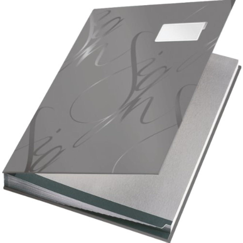 Leitz 5745085 Signature Book - Grey