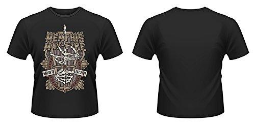 Plastic Head Memphis May Fire Coffin Camiseta, Negro, Small para Hombre
