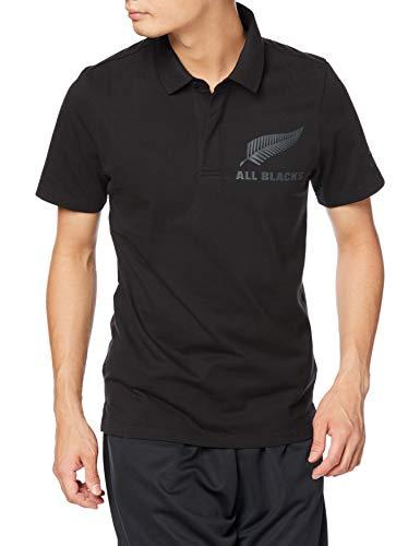 adidas AB SUPP Polo, Hombre, Negro/Carbon, L