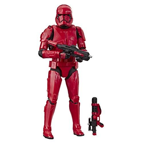 Star Wars The Black Series - Sith Trooper Rosso, Action Figure da Collezione Ispirata al Film Star Wars: L'Ascesa di Skywalker