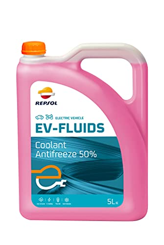 Repsol RP730W39 EV-Fluids Coolant Antifreeze 50%. Anticongelante para vehículos eléctrico