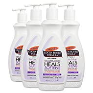 Palmer's Cocoa Butter Formula Daily Skin Therapy Body Lotion with Vitamin E, Fragrance Free, 13.5 Ounces (Pack of 4)