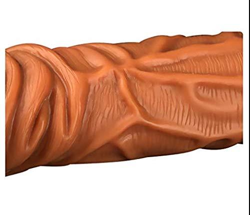 Realistic-Condom-Thick-Girth-Enhancer-Enlarger-Extender-Growth-Sleeve zacd