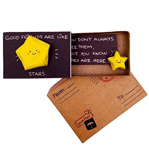 immi Origami - Mini regalo de estrella para el mejor amigo (3XU)