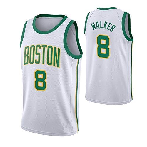 ZeYuKeJi Hombres Camiseta de la NBA Celtics Nueva Jersey # 8 Walker...