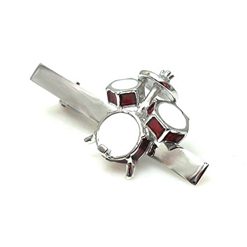 Drummer Tie Clip