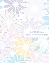 """A Personal Health Organizer: Large Family Medical History Records, Health Information Logbook, Vaccines Tracker, Symptoms, Allergies, Illness, Growth, ... Boys 8.5"""" x 11"""" (Health and Well-Being Logs)"""