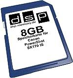 8GB Speicherkarte für Canon PowerShot SX170 IS