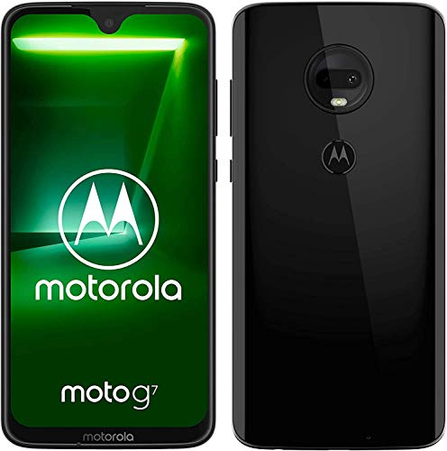Moto g7 Dual-SIM Smartphone (6,2 Zoll Display, 12-MP-Dual-Kamera, 64GB/4GB, Android 9.0) Ceramic Black
