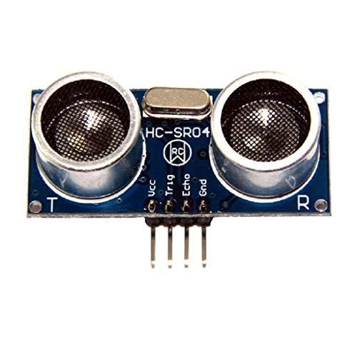 perfk HCSR04 Ultraschall-Abstandssensor Wandler Sensor Distanzmessmodul Sensor-Modul-Kit