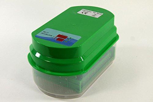 Inkubator VOLLAUTOMATISCH BK15Pro + Zubehör, 15 Eier, Brutautomat, Brutmaschine - 3