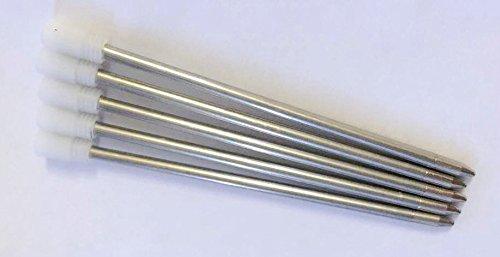 L&C® Nachfüllkartuschen für Kugelschreiber mit Swarovski-Kristallen, schwarz, 2/5/10/20Stück