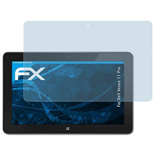 atFolix Schutzfolie kompatibel mit Dell Venue 11 Pro Folie, ultraklare FX Bildschirmschutzfolie (2X)
