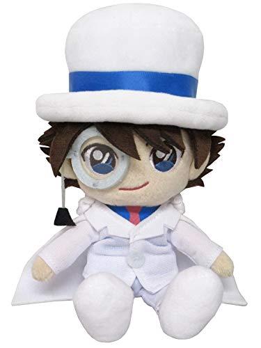 Sanei Boeki Detective Conan Fluffy Friends Kaito Kuroba Kaito Kid Plush Peluche 18cm
