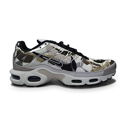 Nike Hombres Tuned 1 Air Max Plus TN 'Camo' - CZ7553 002 - Vast Grey Black Summit Blanco, color Gris, talla 43 EU
