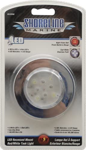 Shoreline Marine Led Chrome Recessed Mount Spring new New life work one after another