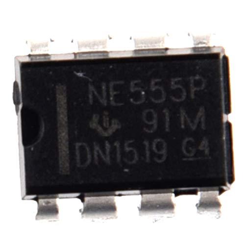 REFURBISHHOUSE 50 Stueck NE555P NE555 DIP-8 EINZELBIPOLAR Timer IC