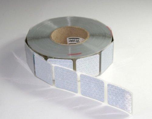 Reflexite VC104 segmentiert Orafol Oralite 50 m x 50 mm Konturmarkierung weiß