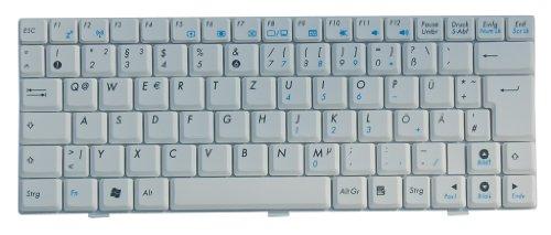 Original Tastatur ASUS Eee PC 1000HG Series Weiss DE NEU