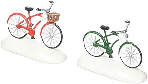 Department 56 Christmas Bikes Figurine Village Accessory, Multicolor