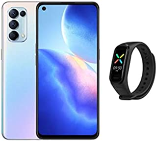 OPPO Reno5 Pro 5G Dual SIM Galactic Silver 12GB RAM 256GB 5G With OPPO Band Black