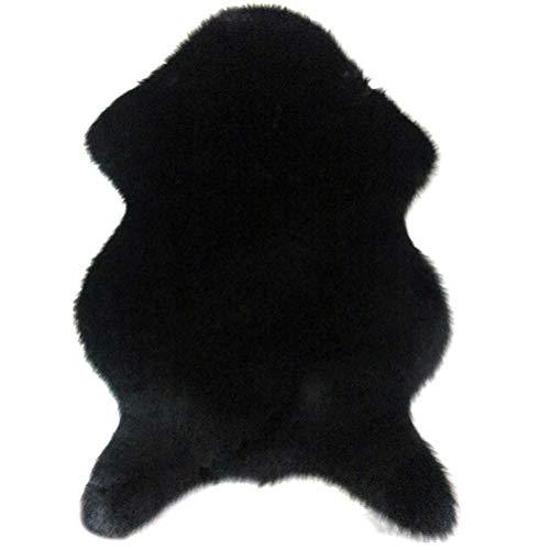 YMN Irregular Mat Alfombras, El resbalón Impermeable y Anti Faux de Piel de Oveja alfombras de Piso de la Alfombra, para Sala de Estar y sofá Dormitorio del Piso,C,80x135cm
