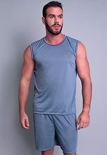 Pijama MVB Modas Masculino Curto Adulto Camiseta