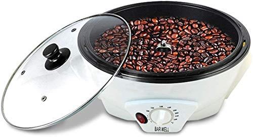 Kaffeeröster Elektrische Kaffeebohnen Bratmaschine Edelstahl Rotations Nuss-Röstmaschine 220V / 1200W