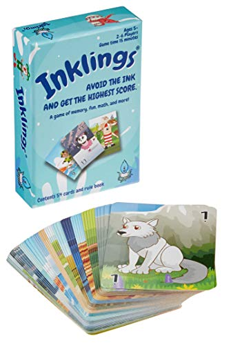 Inklings Math and Memory Card Game for Kids, Ages 5 and Up, Fun and Interactive Play, Early Learning...