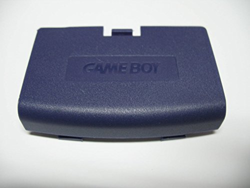 Gametown® Battery Door Cover Repair Replacement for Game Boy Advance Color GBA Console Color Purple