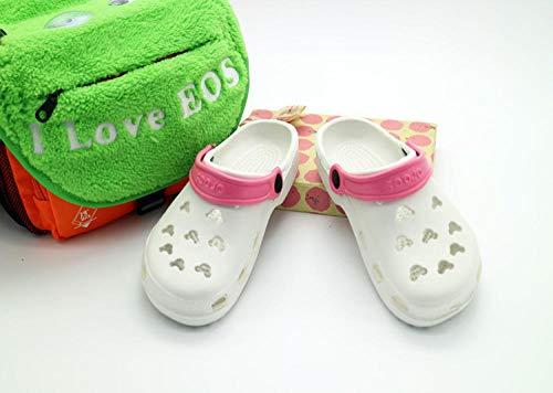 YYFF Palabra de Mujer con Sandalias,Zapatillas Antideslizantes y Transpirables,Zapatos de Playa-Blanco_36,Zapatillas de Estar por Casa Ultraligera