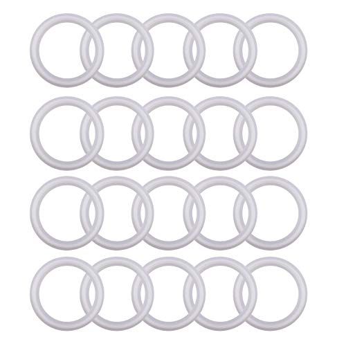 Silicon Tri clamp Gasket for Tri Clover Fittings O-Ring- 2 inch, (Pack of 20)