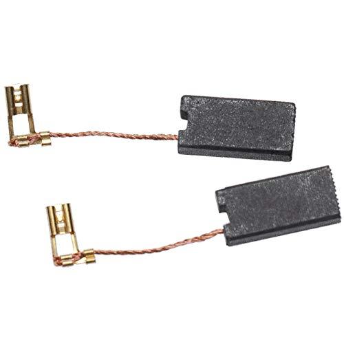 vhbw escobillas de carbono 7 x 12,5 x 26mm compatible con Hilti TE 50-ATC, TE 50-AVR, TE 500, TE 500-AVR, TE 56 herramientas eléctricas