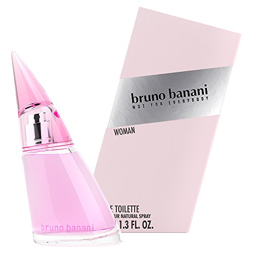 bruno banani Woman – Eau de Toilette Natural Spray – Blumig-fruchtiges Damen Parfüm – 1er Pack (1 x 40ml)