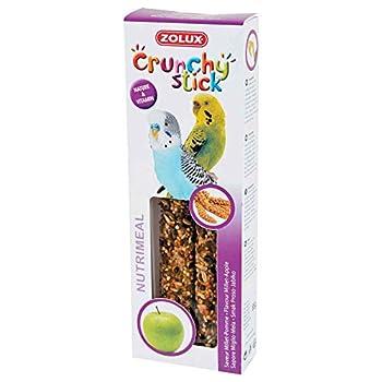 Zolux Crunchy Stick Friandise pour Perruche Millet/Pomme 85 g