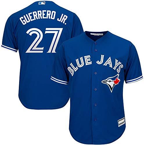 Vladimir Guerrero Jr. Toronto Blue Jays MLB Boys Youth 8-20 Player Jersey (Blue Alternate, Youth Medium 10-12)