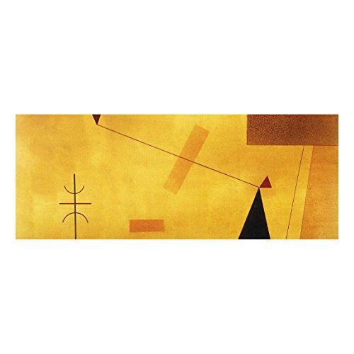 Bilderwelten Cuadro de Cristal Wassily Kandinsky Fuera de Masa Panorama: 30x80cm