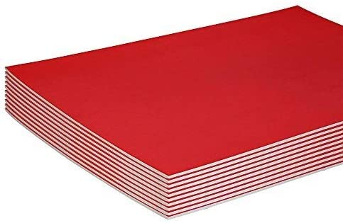 Red Foam Boards Lightweight Sign Free Shipping Cheap Bargain Gift Blank Genuine Core Poster Backing